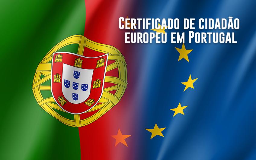 Como entrar em Portugal com o passaporte europeu?