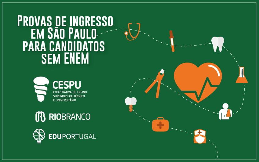 Provas de Ingresso para a CESPU realizadas no Brasil