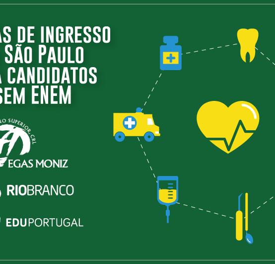 Provas de Ingresso para a Egas Moniz realizadas no Brasil