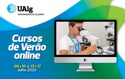 Cursos de Verão Online 2020 na Universidade do Algarve